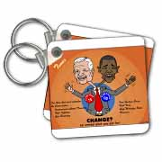 The problems with change ala Carter and Obama Key Chain