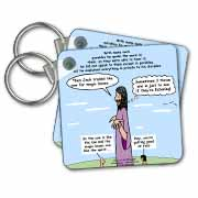 Mark 04-26-34 Jesus and the Beanstalk - Teaching Ad Lib Key Chain