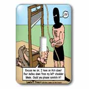 Gallows Humor  Light Switch Cover