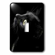 black cat face Light Switch Cover