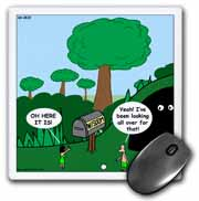 Job 28 20 Looking for Wisdom in All the Wrong Places Bible wisdom golf course mailbox ball Mouse Pad
