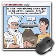Ten Commandments, Origins Mouse Pad