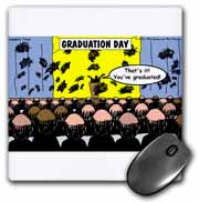 Graduation Day at the Hair Club for Men Mouse Pad