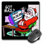 Ira Monroe about Santas E-Mail for Christmas Mouse Pad