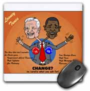 The problems with change ala Carter and Obama Mouse Pad