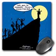 Luke 4-21-30 - A Cliffhanger Mouse Pad