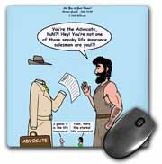 John 15 26 - 16 15 The advocate appears to Peter Mouse Pad