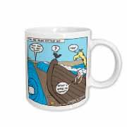 Noah Meets Moses  Mug