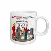 Ten Commandments 5 Honor Your Parents Mug