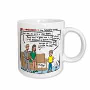 Ten Commandments 7 Stay Faithful to Spouse Mug