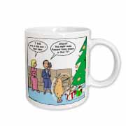 Bad Christmas Present Idea - Funniest Home Videos Mug