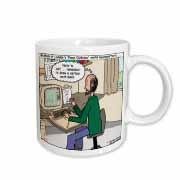 Pressures of Being a Cartoonist Mug