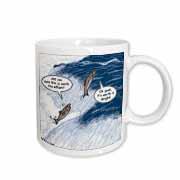 Salmon Spawning Advice Mug