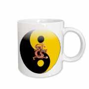 Dragon Ying-Yang Mug