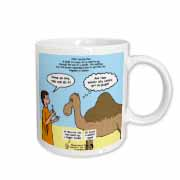Mark 10-17-31 Stupid Animal Tricks - Camel through the Eye of a Needle Parable Mug
