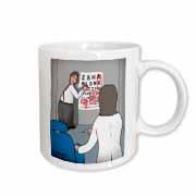 Eye Chart Word Search - Visit to the Eye Doctor Mug