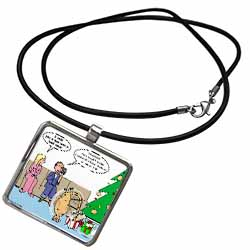 Bad Christmas Present Idea - Funniest Home Videos Necklace With Pendant