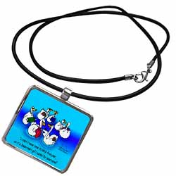 Larry Miller - Swan-Mart Gift Cards Necklace With Pendant