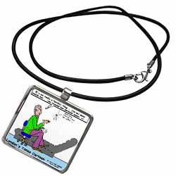 Miss Muffett - the Spiders Story Necklace With Pendant