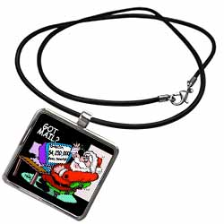 Ira Monroe about Santas E-Mail for Christmas Necklace With Pendant