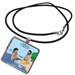 Mark 01-01-08 Take Me to the River - John the Baptist Necklace With Pendant