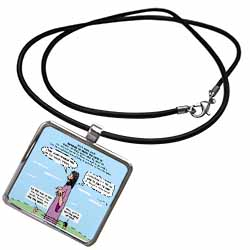 Mark 04-26-34 Jesus and the Beanstalk - Teaching Ad Lib Necklace With Pendant