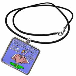 Ira Monroes Grateful Holiday Turkey Necklace With Pendant