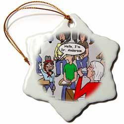 Ventriloquism University  Ornament