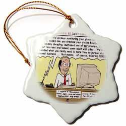 Ten Commandments 8 Dont Steal Ornament