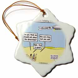 Ten Commandments, Following Directions Ornament