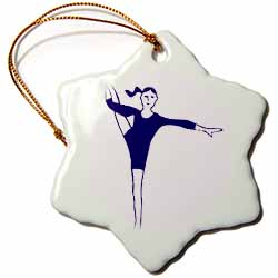 The Gymnast Ornament