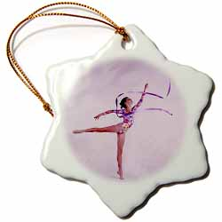 Gymnastic Exercise Ornament