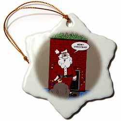 Dale Hunt - Merry Santa Clause Ornament