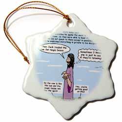 Mark 04-26-34 Jesus and the Beanstalk - Teaching Ad Lib Ornament