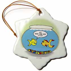 Fishbowl Pick-up Lines or 3 Second Memory Ornament