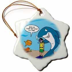 Shark Chum Ornament