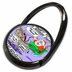 Ira Monroe - Santa and Mule Deer Phone Ring