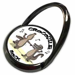 Out to Lunch Cartoon Crocodile Rock Phone Ring