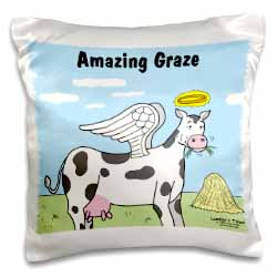Cow Angel Pillow Case