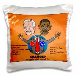 The problems with change ala Carter and Obama Pillow Case
