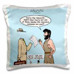 John 15 26 - 16 15 The advocate appears to Peter Pillow Case