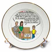 Ten Commandments 7 Stay Faithful to Spouse Plate