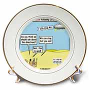 Ten Commandments, Following Directions Plate
