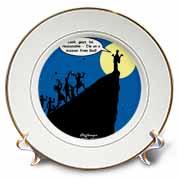 Luke 4-21-30 - A Cliffhanger Plate