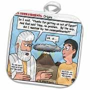 Ten Commandments, Origins Potholder