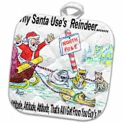 Kevin Edler, Why Santa Uses Reindeer  Potholder