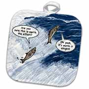 Salmon Spawning Advice Potholder