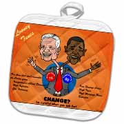 The problems with change ala Carter and Obama Potholder