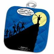 Luke 4-21-30 - A Cliffhanger Potholder