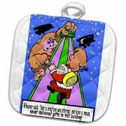 Ira Monroe - Santa Finds Some Buildings are Stirring More than a Mouse Potholder